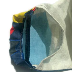 open pocket for removable filter in mask