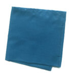 Smoke blue small pocket square